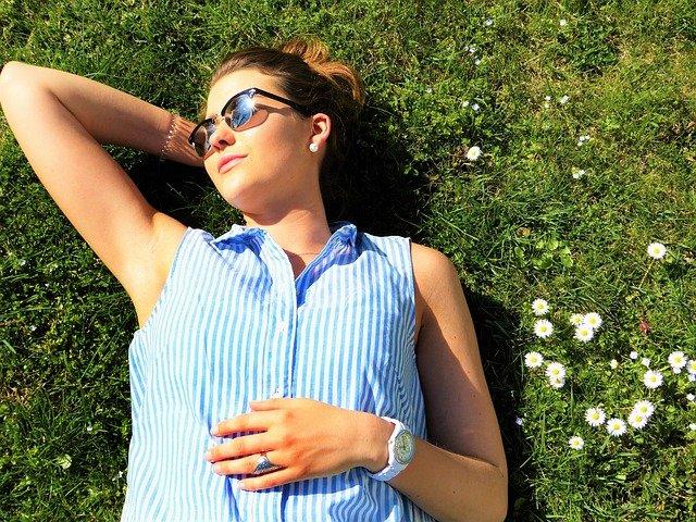 Ekspozycja na słońce pomaga w syntezie witaminy D